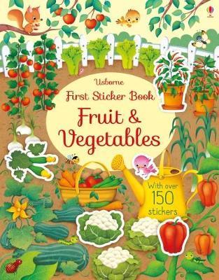 First Sticker Book Fruit and Vegetables (First Sticker Books)