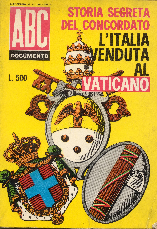 L'Italia venduta al Vaticano