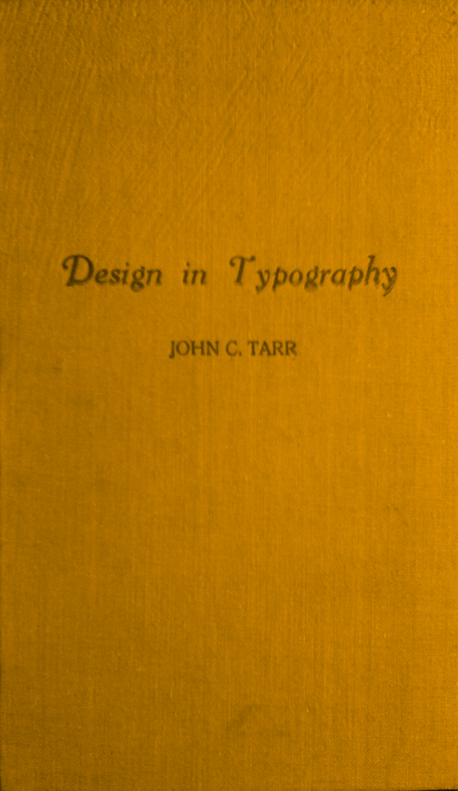 Design in Typography