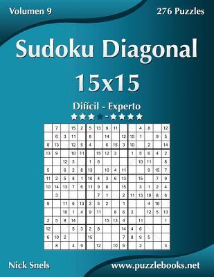 Sudoku Diagonal 15X15