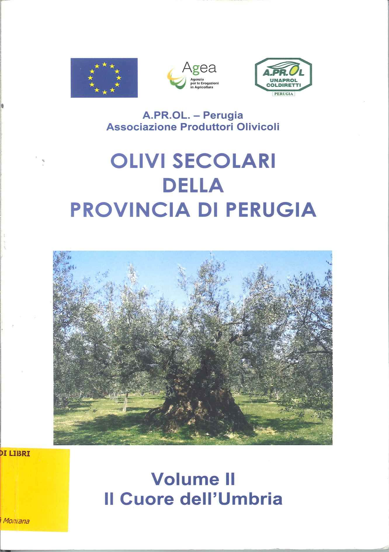 Olivi secolari della Provincia di Perugia - Vol. 2