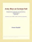 Army Boys on German ...
