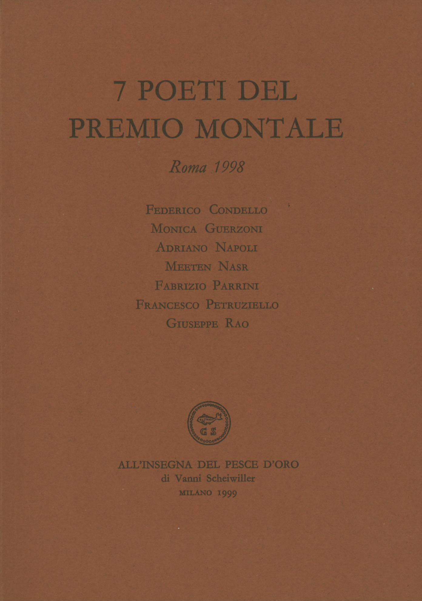 7 poeti del Premio Montale