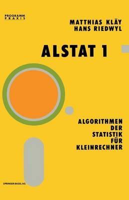 Alstat 1 Algorithmen Der Statistik Für Kleinrechner