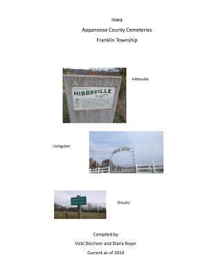 Iowa, Appanoose County Cemeteries