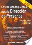Los 10 mandamientos para la dirección de personas