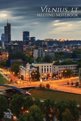 Vilnius, Lt Meeting Notebook