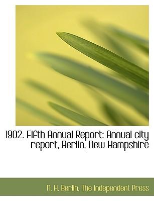 1902. Fifth Annual Report