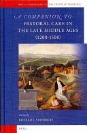 A Companion to Pastoral Care in the Late Middle Ages