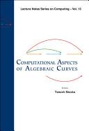 Computational aspects of algebraic curves