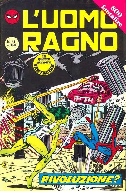 L'Uomo Ragno (2a serie) n. 41