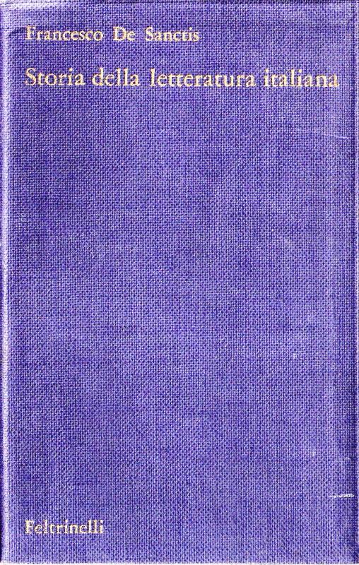 Storia della letteratura Italiana Vol I e Vol II