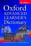 The Oxford Advanced Learner's Dictionary
