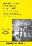 Decr Apostolate of Laity