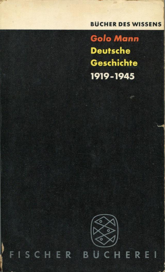 Deutsche Geschichte, 1919 - 1945