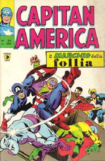 Capitan America n. 9...