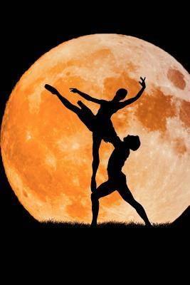 Ballet Dancing Pair Silhouette and the Moon Journal