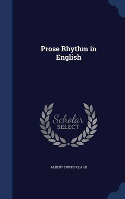 Prose Rhythm in English