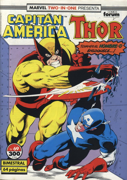Marvel Two-In-One: C...