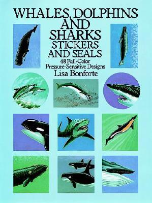 Whales, Dolphins and Sharks Stickers and Seals