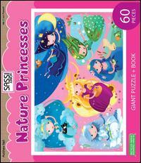 Nature princesses. Puzzle gigante. Con libro