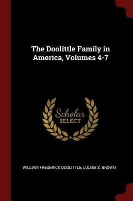 The Doolittle Family in America, Volumes 4-7