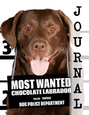 Most Wanted Chocolate Labrador Journal