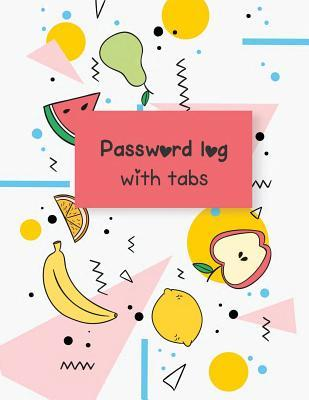 Password log with tabs