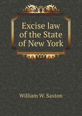 Excise Law of the State of New York