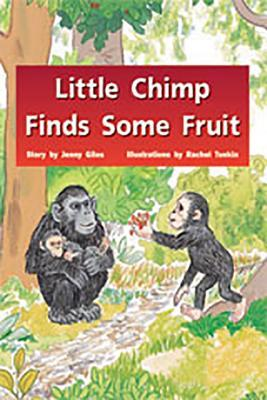 Little Chimp Finds Some Fruit