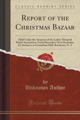 Report of the Christmas Bazaar