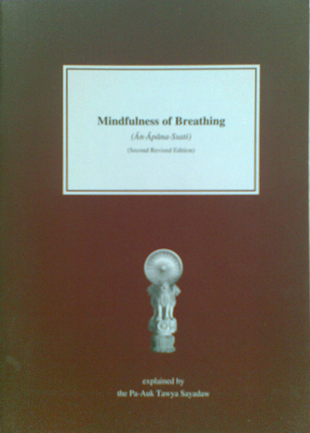 Mindfulness of Breathing (ānāpānasati)