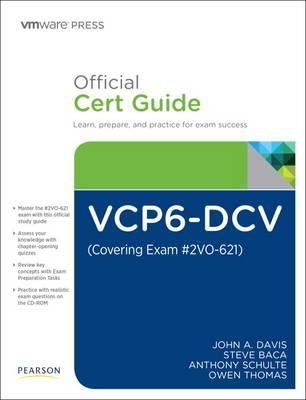 Vcp6-dcv Official Cert Guide Covering Exam #2vo-621