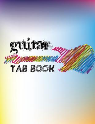 Abstract Guitar Tab Notebook