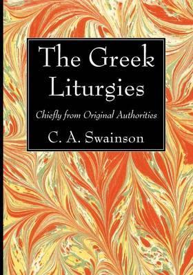 The Greek Liturgies