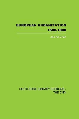 European Urbanization, 1500-1800