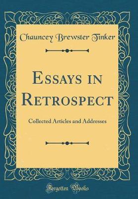 Essays in Retrospect