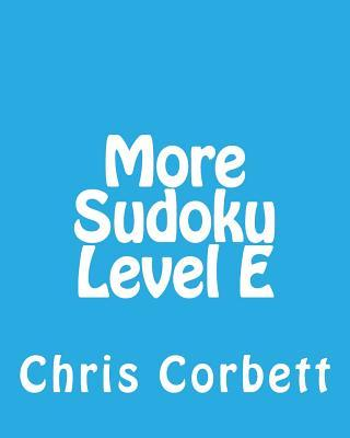 More Sudoku Level E