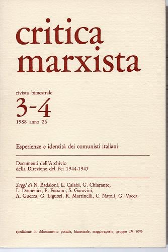 Critica marxista Ann...