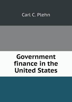 Government Finance in the United States