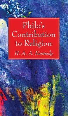 Philo's Contribution to Religion