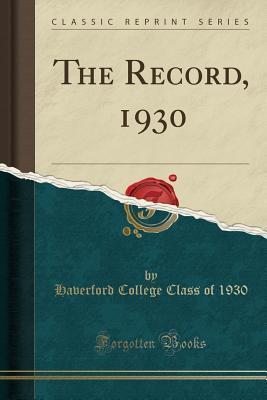 The Record, 1930 (Classic Reprint)