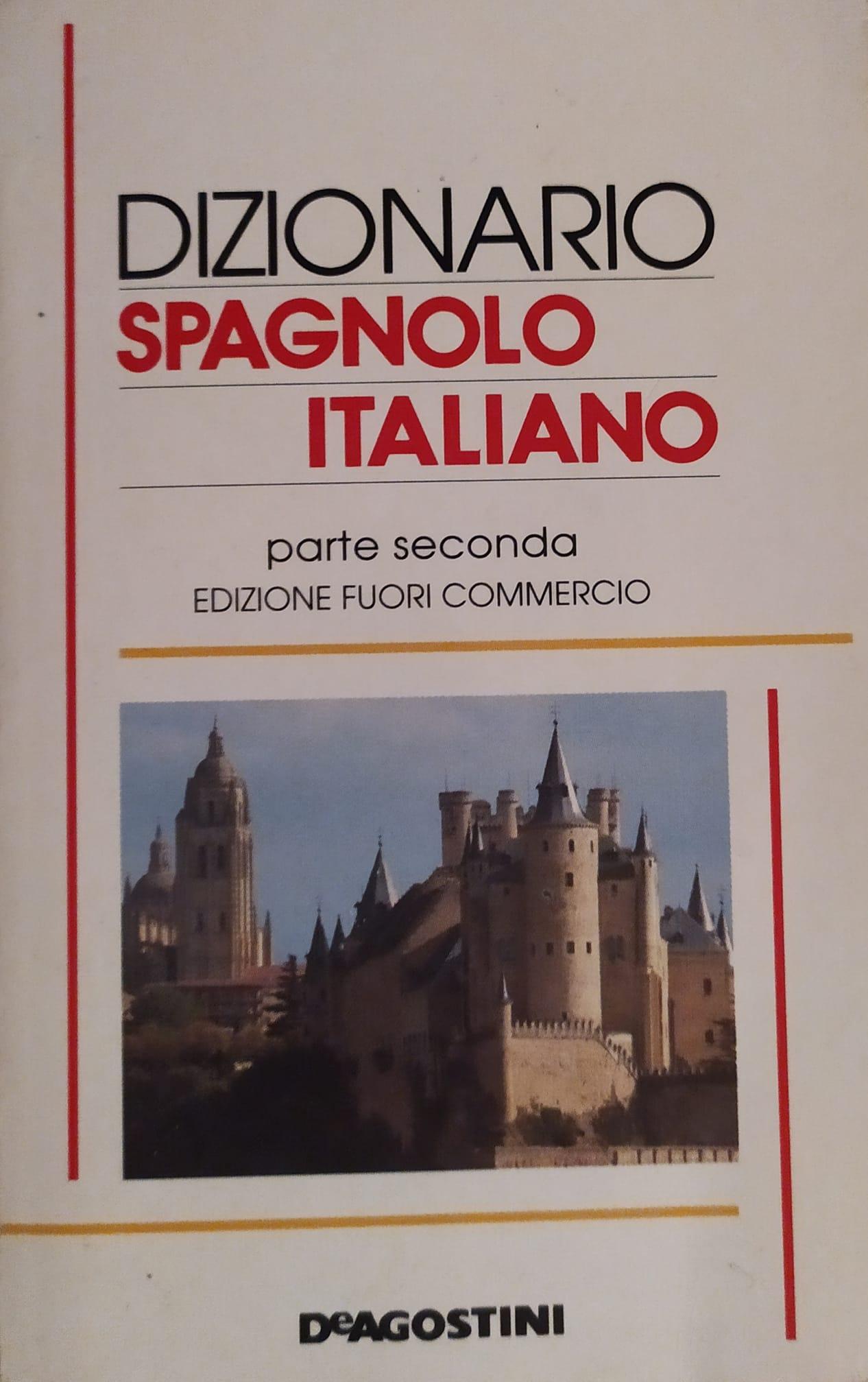 Dizionario spagnolo italiano
