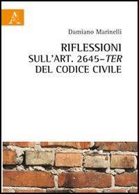 Riflessioni sull'art. 2645 ter del codice civile