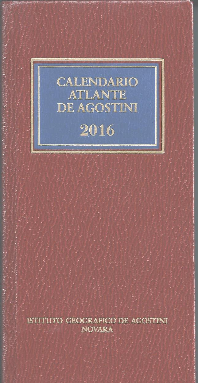 Calendario atlante De Agostini 2016
