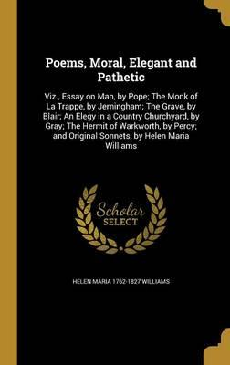POEMS MORAL ELEGANT & PATHETIC