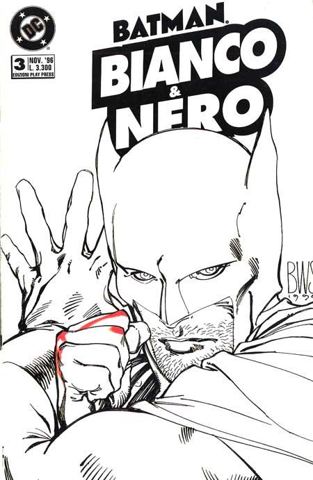Batman Bianco & Nero...