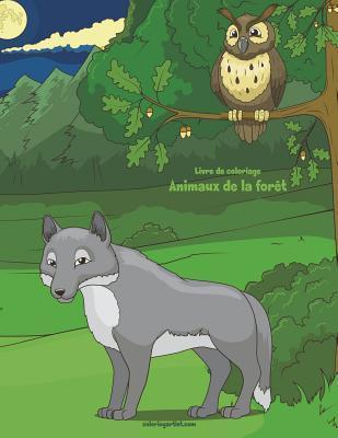 Livre de coloriage Animaux de la forêt 1 & 2
