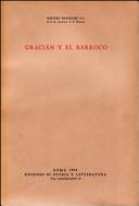 Gracián y el barocco
