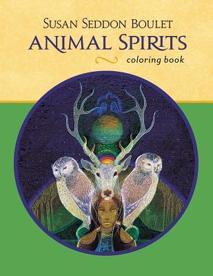 Animal Spirits Coloring Book